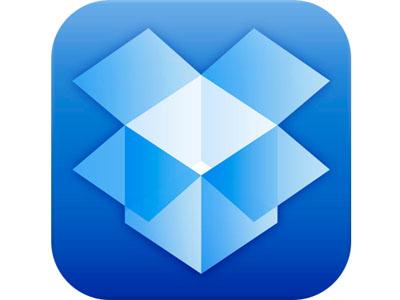 Dropbox applicazione iPhone