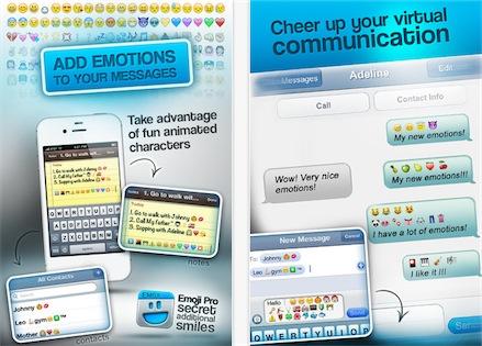 applicazione Emoji Pro appstore