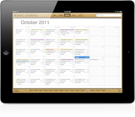 Calendario-iPad