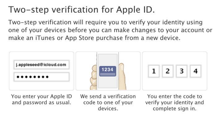 Apple ID, account perso senza il codice di verifica