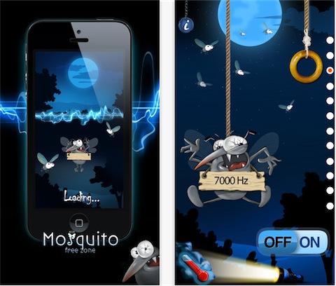 applicazioni Mosquito Free Zone
