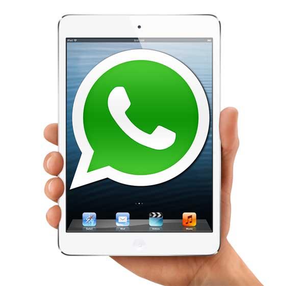 Download whatsapp di ipad mini