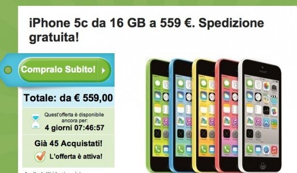 iphone 5c nuovo prezzo