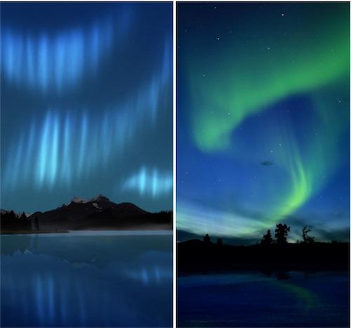 Sfondi della settimana ecco una particolare aurora for Sfondi desktop aurora boreale