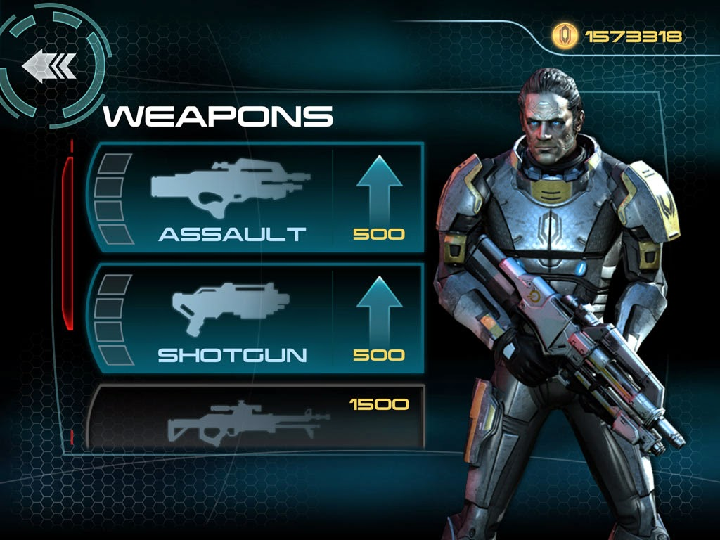 ipad mass effect infiltrator