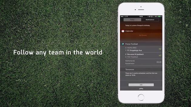 Forza Football, arriva il widget per i risultati in diretta del calcio