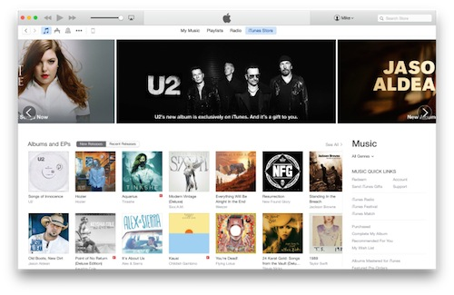 Apple rilascia iTunes 12.0.1 per OS X Yosemite ed altri [download]