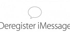 Come cancellare il proprio numero telefonico dai server iMessage