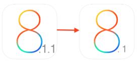 Come eseguire il downgrade da iOS 8.1.1 a iOS 8.1