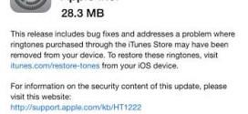 5 motivi per cui aggiornare ad iOS 8.1.2