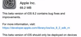 Apple rilascia iOS 8.2 beta 3 per iPhone, iPad ed iPod touch [link download]