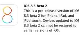 Apple rilascia iOS 8.3 beta 2 per iPhone, iPad ed iPod touch [link download]