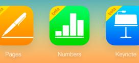 Le applicazioni Pages, Numbers e Keynote arrivano su iCloud.com