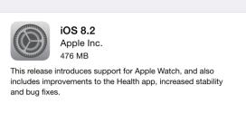 Come avere una durata di batteria migliore con iOS 8.2