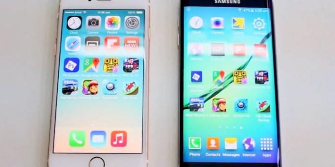 iPhone 6 vs Galaxy S6 Edge ecco il test sulla velocità