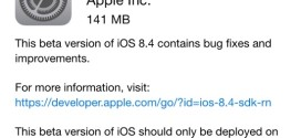 Apple rilascia iOS 8.4 beta 3 per iPhone, iPad ed iPod touch [link download]