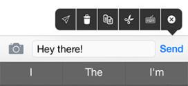 Dele il tweak Cydia che permette di annullare l'invio di un messaggio di testo