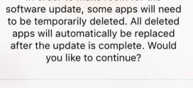 iOS 9 cancella in automatico le app per liberare memoria per gli aggiornamenti