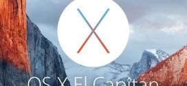 Apple rilascia OS X 10.11 El Capitan Developer beta 1 [link download]