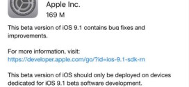 Apple rilascia iOS 9.1 beta 2 per iPhone, iPad ed iPod touch [link download]