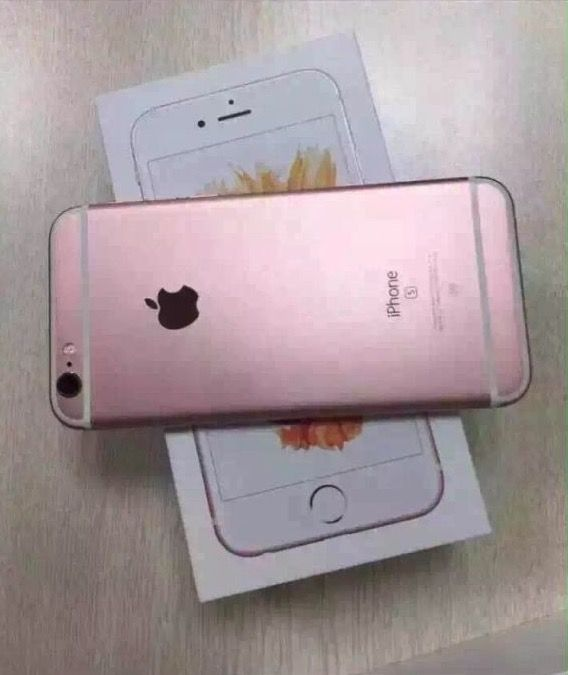 Color Rose Gold iPhone 6s