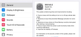 Apple rilascia iOS 9.0.2 per iPhone, iPad ed iPod touch [link download]