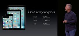 iCloud: nuovi prezzi per lo storage aggiuntivo