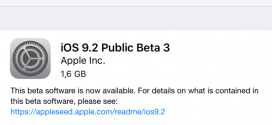 Apple rilascia iOS 9.2 beta 3 per iPhone, iPad ed iPod touch [link download]