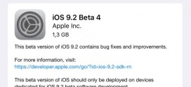 Apple rilascia iOS 9.2 beta 4 per iPhone, iPad ed iPod touch [link download]